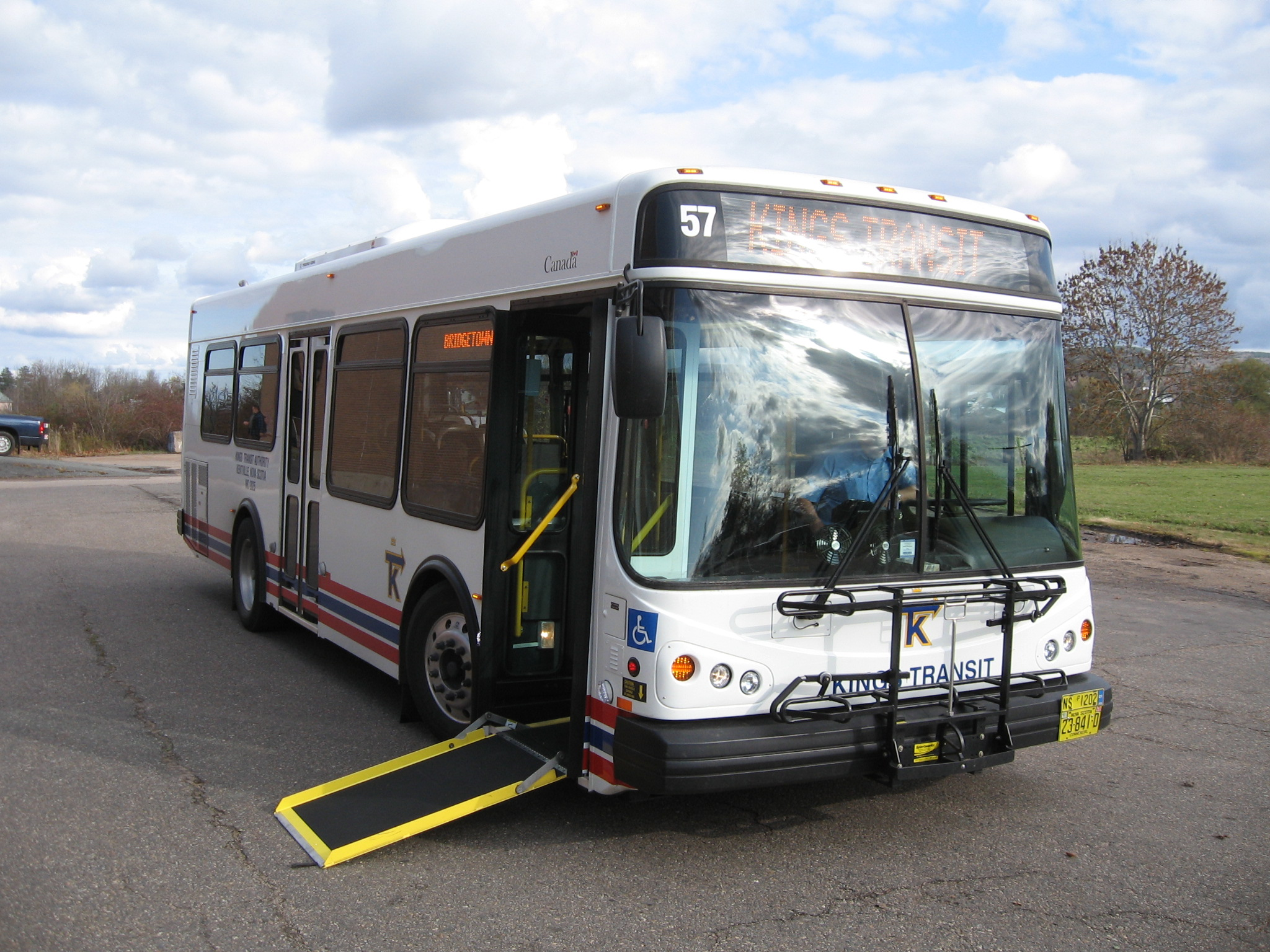 Fully accessible Kings Transit buses